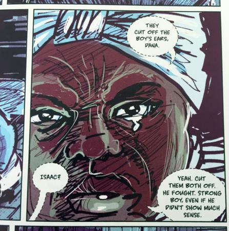 illustration from graphic novel